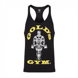 Gold's Gym Stringer Joe Black