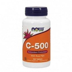 Now Foods Vitamina C-500...